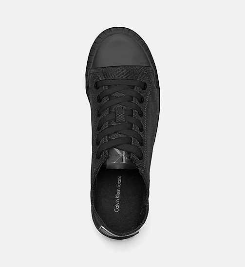 CALVIN KLEIN JEANS Nylon Sneakers - BLACK/BLACK -  TRAINERS - detail image 1