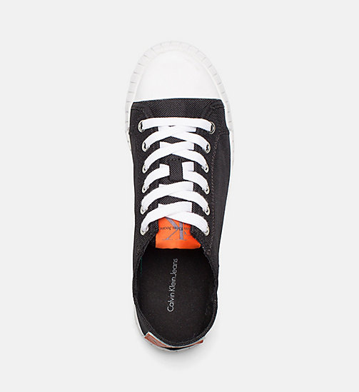 CALVIN KLEIN JEANS Nylon Sneakers - BLACK - CALVIN KLEIN JEANS SHOES & ACCESORIES - detail image 1