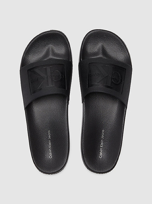 CALVIN KLEIN JEANS Jelly slippers - BLACK -  SLIPPERS - main image