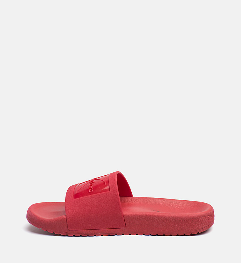 CALVIN KLEIN JEANS Jelly Sliders - ACCENT YELLOW - CALVIN KLEIN JEANS WOMEN - detail image 2