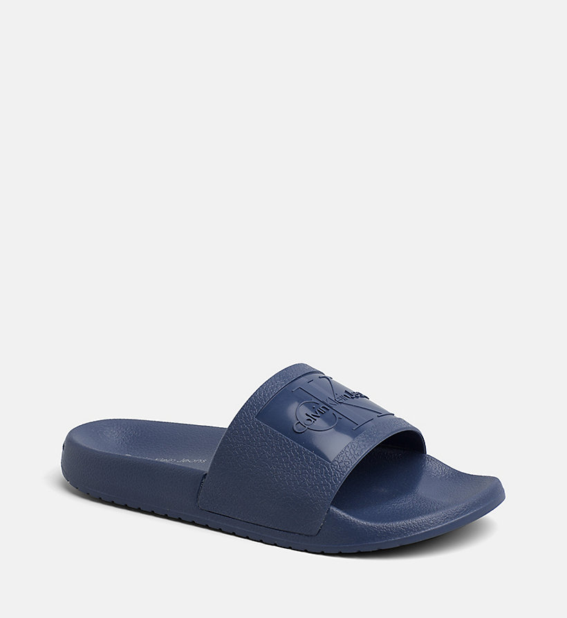 CALVIN KLEIN JEANS Jelly Sliders - BLACK - CALVIN KLEIN JEANS WOMEN - main image