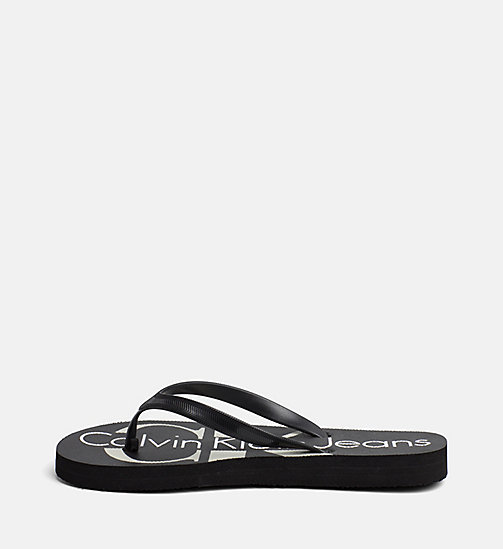 CALVIN KLEIN JEANS Jelly slippers - BLACK -  SLIPPERS - detail image 1
