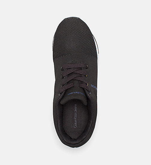 CALVIN KLEIN JEANS Mesh Sneakers - BLACK - CALVIN KLEIN JEANS TRAINERS - detail image 1