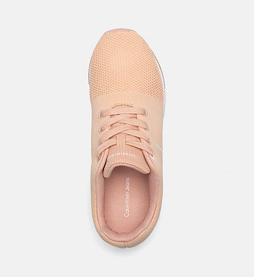 CALVIN KLEIN JEANS Mesh Sneakers - DUSK - CALVIN KLEIN JEANS TRAINERS - detail image 1