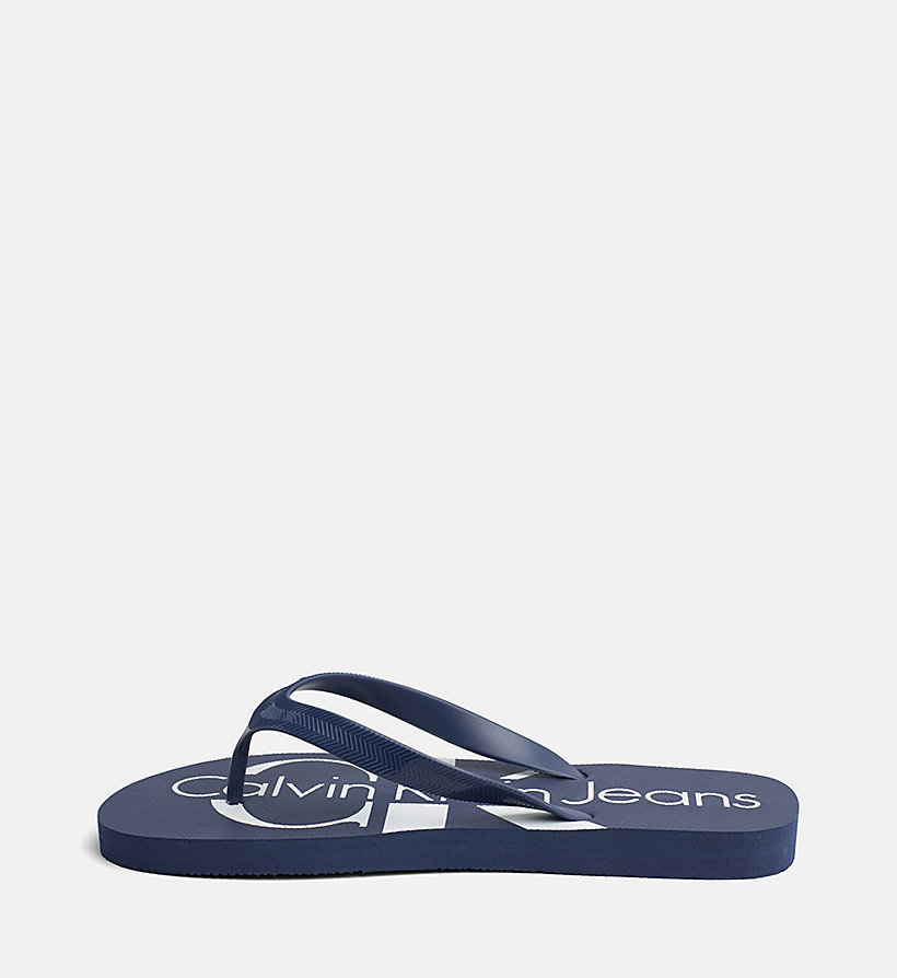 CALVIN KLEIN JEANS Jelly Slippers - BLACK - CALVIN KLEIN JEANS MEN - detail image 2