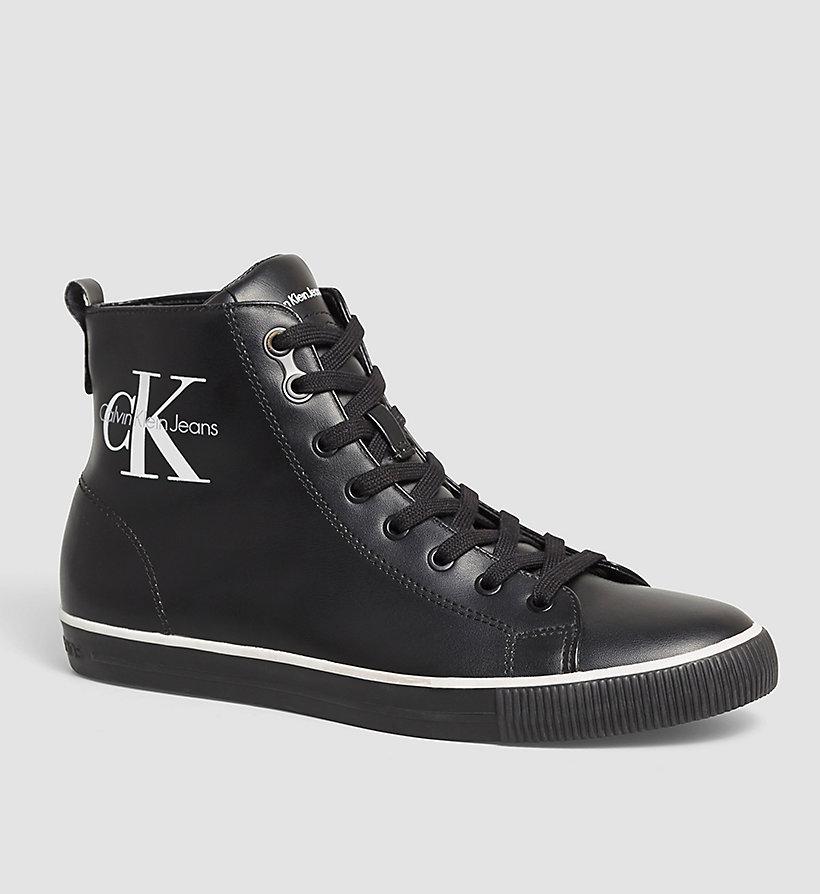 high top sneakers calvin klein 00000s0368. Black Bedroom Furniture Sets. Home Design Ideas