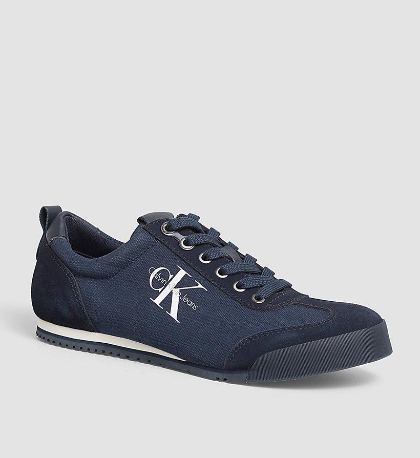 Heren Schoudertassen Canvas : Canvas sneakers calvin klein? s blk