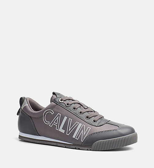 CALVIN KLEIN JEANS Sneakers - CHARCOAL - CALVIN KLEIN JEANS SHOES - main image