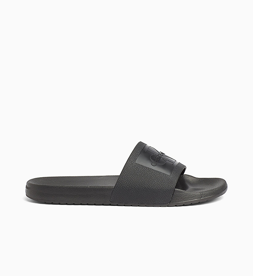 CALVIN KLEIN JEANS Jelly Sliders - WHITE - CALVIN KLEIN JEANS MEN - detail image 2