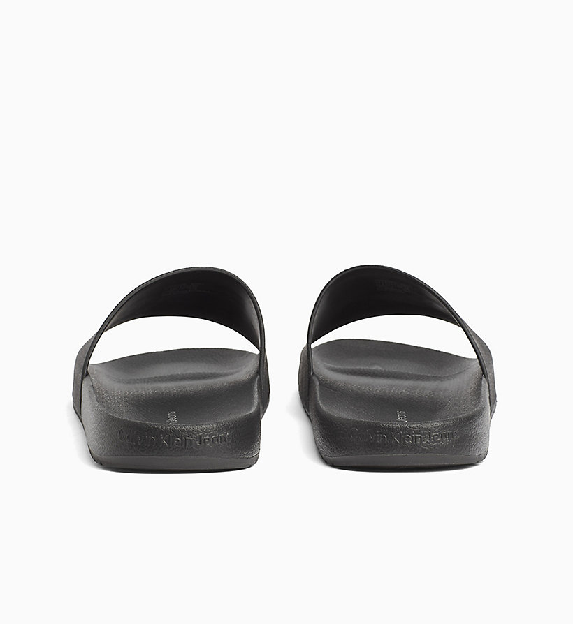 CALVIN KLEIN JEANS Jelly Sliders - WHITE - CALVIN KLEIN JEANS MEN - detail image 3