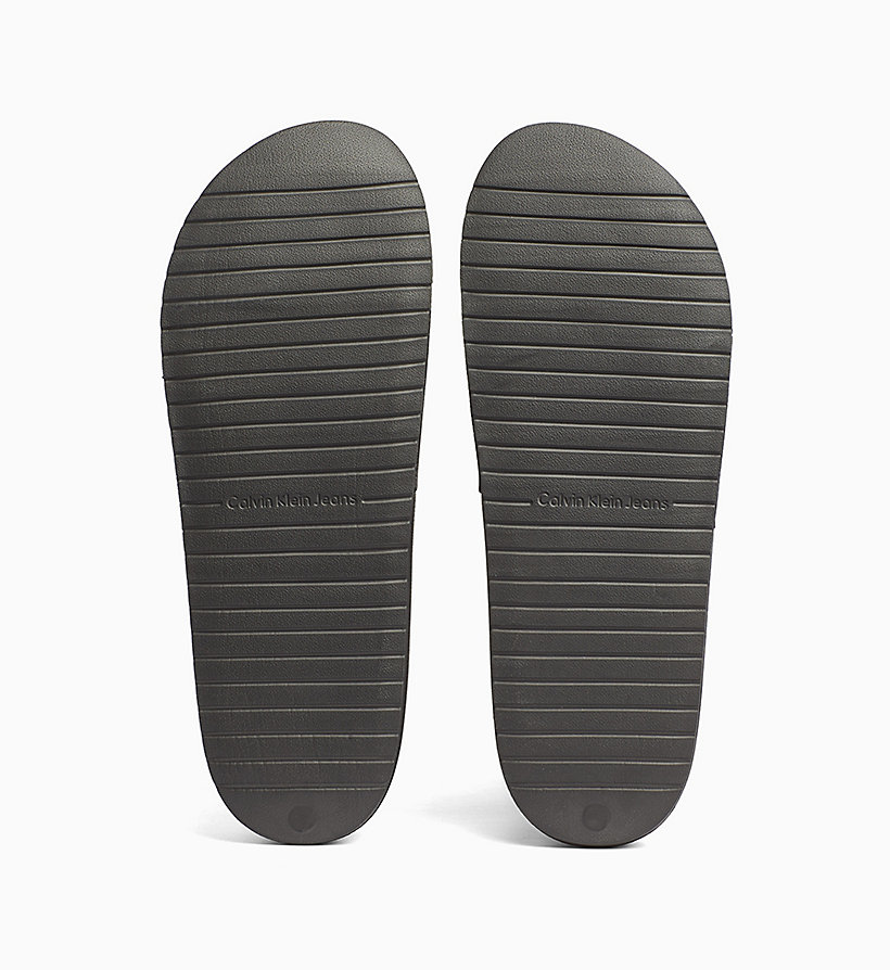 CALVIN KLEIN JEANS Jelly Sliders - WHITE - CALVIN KLEIN JEANS MEN - detail image 4