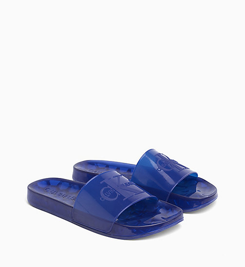 CALVIN KLEIN JEANS Sliders - NAUTICAL BLUE - CALVIN KLEIN JEANS SLIDERS - detail image 1