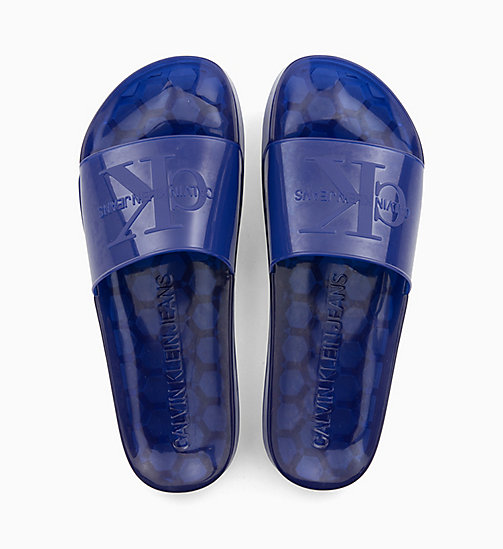 CALVIN KLEIN JEANS Sliders - NAUTICAL BLUE - CALVIN KLEIN JEANS SLIDERS - main image