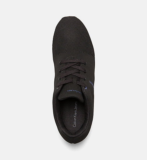 CALVIN KLEIN JEANS Mesh sneakers - BLACK - CALVIN KLEIN JEANS SHOES & ACCESSORIES - detail image 1