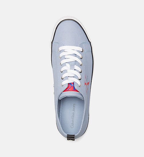CALVIN KLEIN JEANS Denim Sneakers - LIGHT BLUE - CALVIN KLEIN JEANS TRAINERS - detail image 1