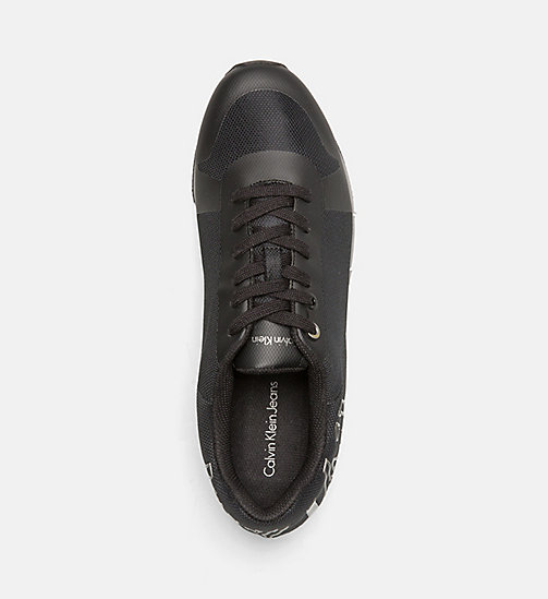 CALVIN KLEIN JEANS Mesh Sneakers - BLACK/PEWTER - CALVIN KLEIN JEANS SHOES & ACCESSORIES - detail image 1