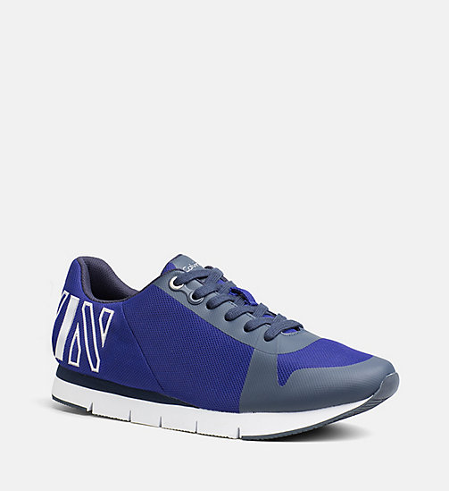 CALVIN KLEIN JEANS Mesh Sneakers - E-BLUE/SILVER - CALVIN KLEIN JEANS SHOES & ACCESSORIES - main image