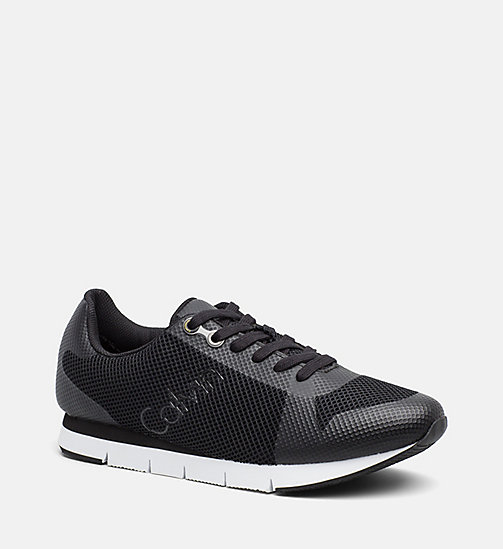 CALVIN KLEIN JEANS Mesh Sneakers - BLACK BLACK - CALVIN KLEIN JEANS SHOES & ACCESSORIES - main image