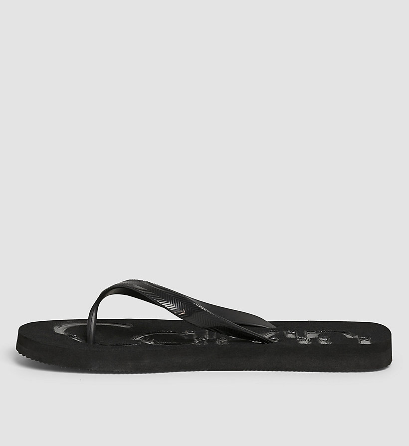 CKJEANS Jelly Sandals - BLACK/INDIGO/INDIGO - CK JEANS MEN - detail image 2