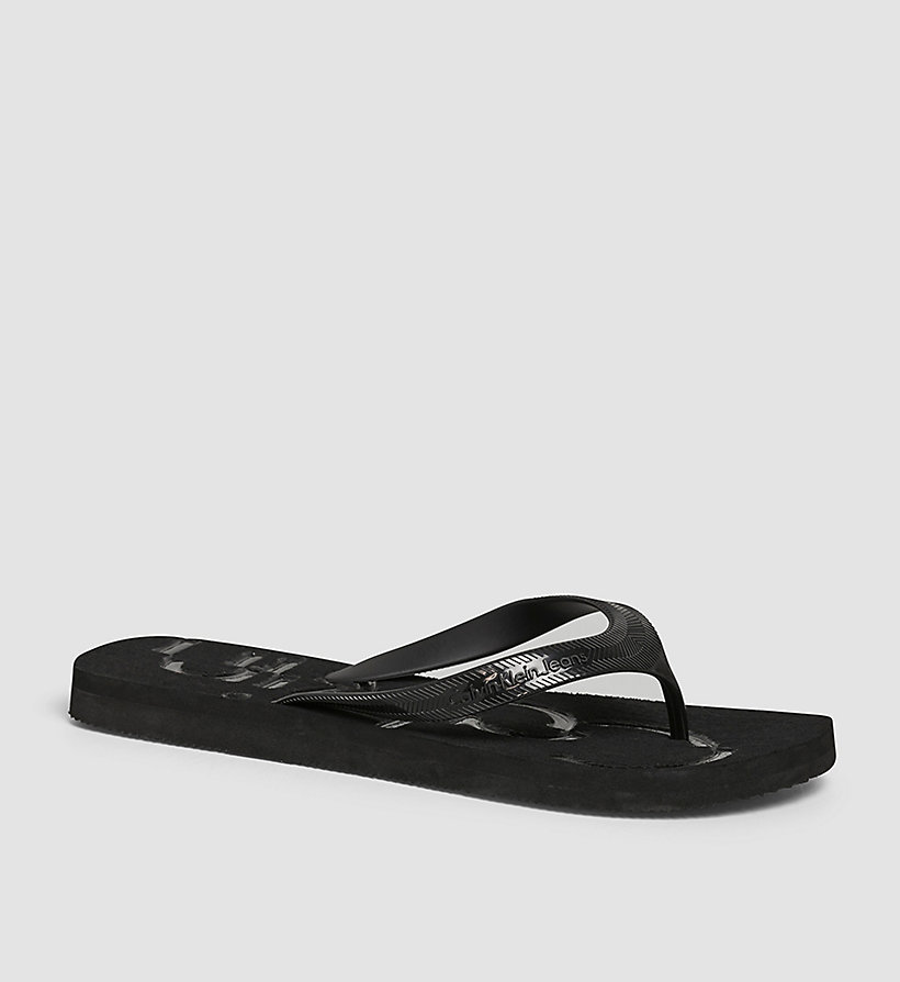 CKJEANS Jelly Sandals - BLACK/INDIGO/INDIGO - CK JEANS MEN - main image
