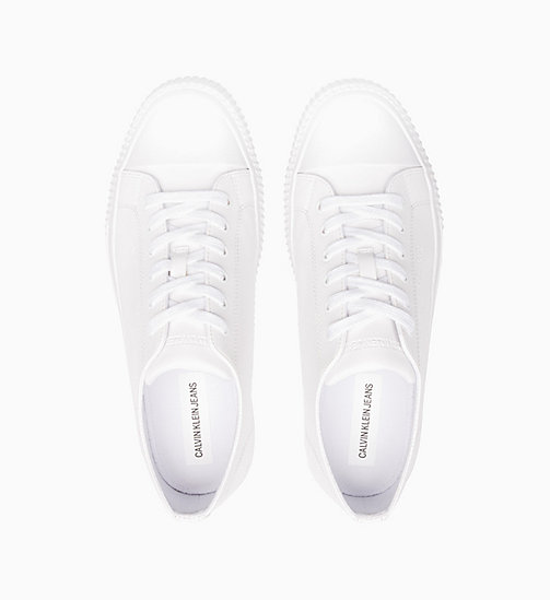 CALVIN KLEIN JEANS Trainers - WHITE - CALVIN KLEIN JEANS TRAINERS - detail image 1