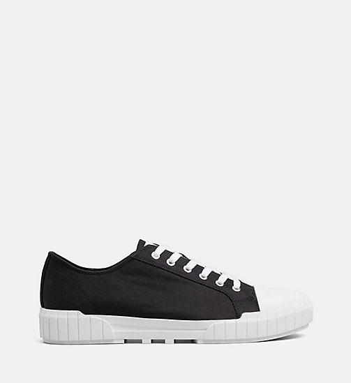 CALVIN KLEIN JEANS Nylon Trainers - BLACK - CALVIN KLEIN JEANS TRAINERS - main image