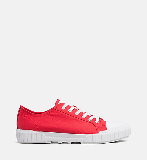 CALVIN KLEIN JEANS Nylon Trainers - TOMATO - CALVIN KLEIN JEANS TRAINERS - main image