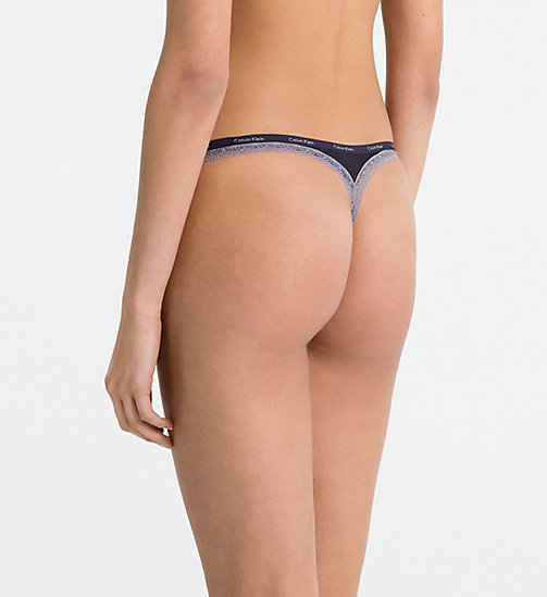 CALVINKLEIN Thong - Bottoms Up - FLUX - CALVIN KLEIN THONGS - detail image 1