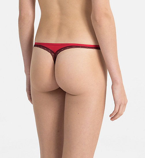 CALVINKLEIN Thong - Bottoms Up - EMPOWER - CALVIN KLEIN THONGS - detail image 1