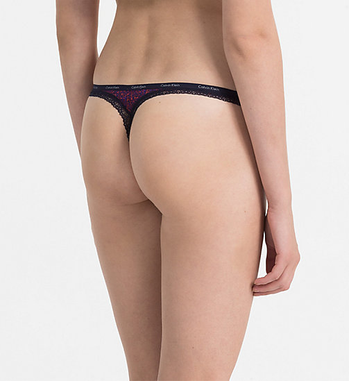 CALVINKLEIN Thong - Bottoms Up - ARCHIVE TEXTURE_MARLOW - CALVIN KLEIN THONGS - detail image 1