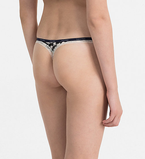 CALVINKLEIN Thong - Bottoms Up - KELLY FLORAL - CALVIN KLEIN THONGS - detail image 1
