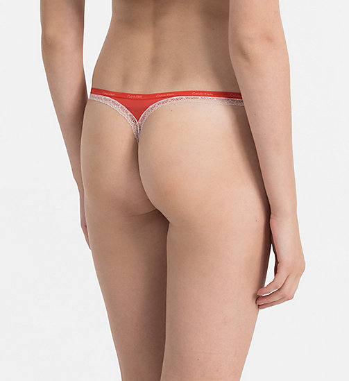 CALVINKLEIN Thong - Bottoms Up - MARLOW - CALVIN KLEIN THONGS - detail image 1