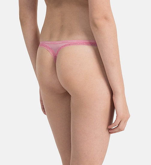 CALVINKLEIN Thong - Bottoms Up - PENELOPE - CALVIN KLEIN THONGS - detail image 1