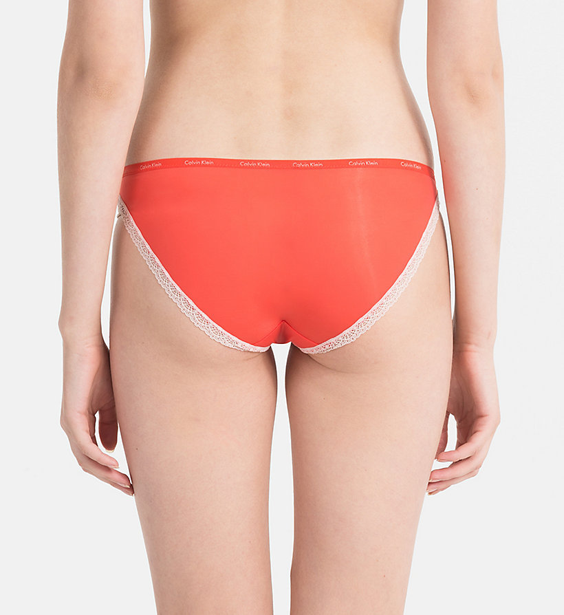 CALVINKLEIN Bikini Brief - Bottoms Up - EFFORTLESS ANIMAL_MAGGIE - CALVIN KLEIN UNDERWEAR - detail image 1
