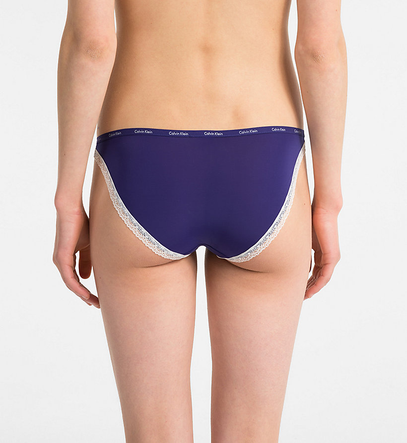 CALVIN KLEIN Bikini Brief - Bottoms Up - BLACK - CALVIN KLEIN UNDERWEAR - detail image 1