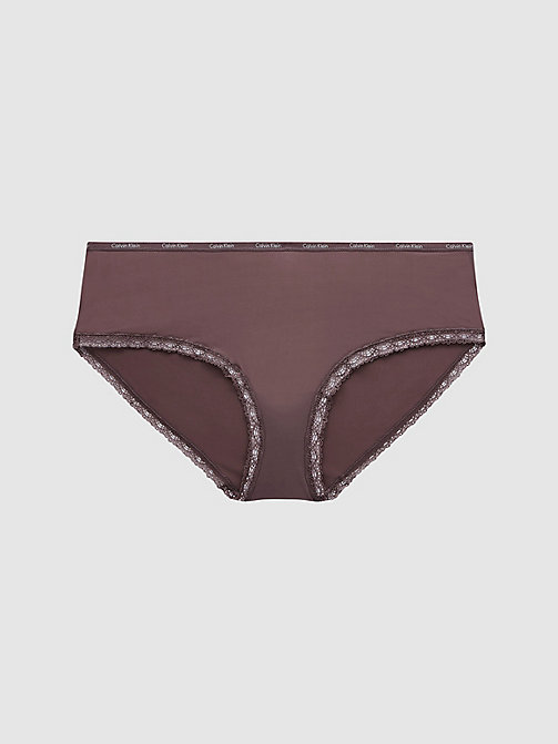 CALVIN KLEIN Hipster Panty - Bottoms Up - SMOKE - CALVIN KLEIN HIPSTER PANTIES - main image