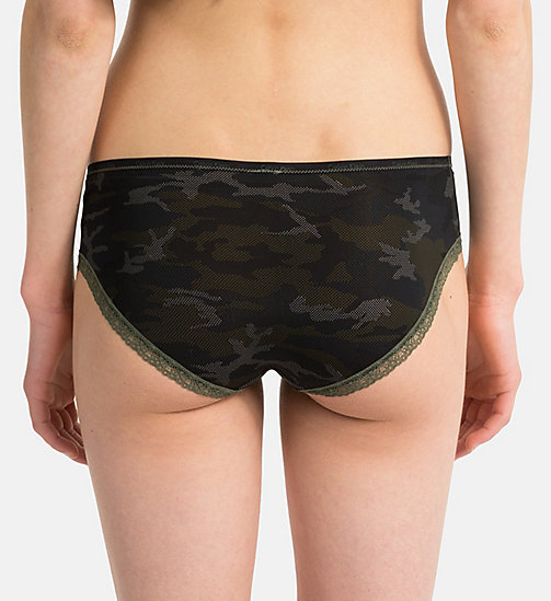 CALVINKLEIN Hipsters - Bottoms Up - CAMO_BLACK - CALVIN KLEIN NEW FOR WOMEN - detail image 1