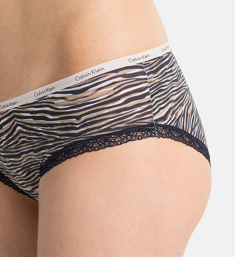 CALVINKLEIN Shorty - Bottoms Up - TINY LEOPARD_SULTRY (SULTRY L - CALVIN KLEIN SOUS-VÊTEMENTS - image détaillée 2