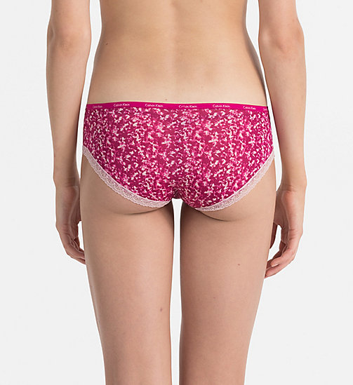 CALVINKLEIN Hipsters - Bottoms Up - MINIMIZING PRINT_INDULGE - CALVIN KLEIN KNICKERS - detail image 1
