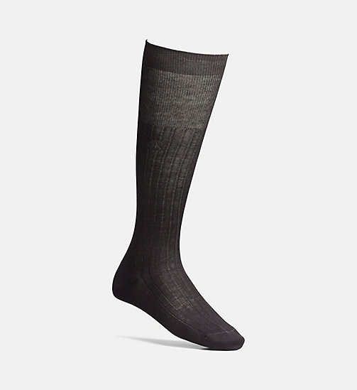 CALVINKLEIN Knee High Socks - BLACK - CALVIN KLEIN SOCKS - main image