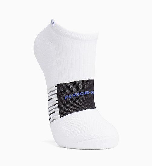 CALVINKLEIN Performance Liner Socks - WHITE - CALVIN KLEIN SOCKS & TIGHTS - main image