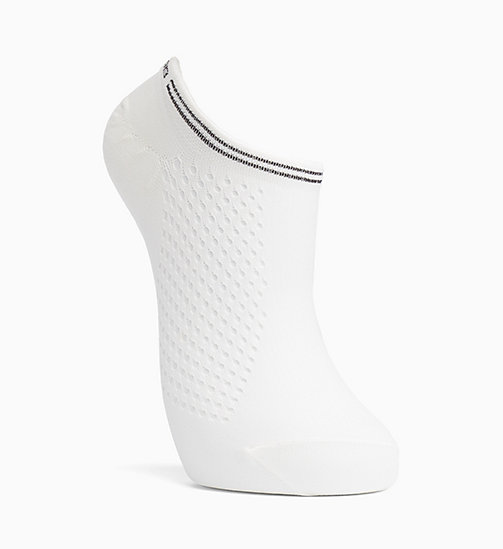 CALVIN KLEIN Mesh Liner Socks - WHITE - CALVIN KLEIN SOCKS & TIGHTS - main image