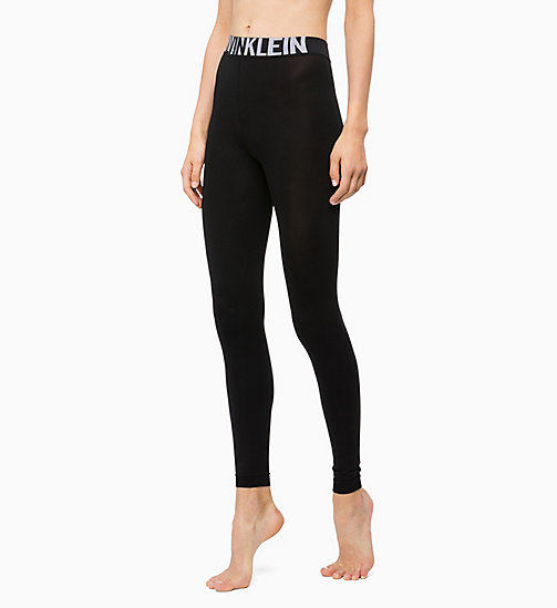 CALVINKLEIN Logo Leggings - BLACK - CALVIN KLEIN SOCKS & TIGHTS - main image