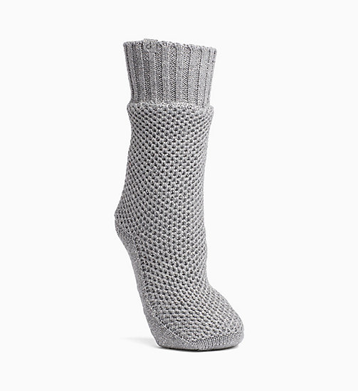 CALVINKLEIN Sparkle Home Socks - PALE GREY HEATHER - CALVIN KLEIN UNDERWEAR - main image