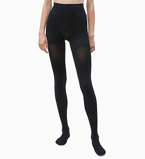 CALVINKLEIN Matte Shaper Tights - BLACK - CALVIN KLEIN WOMEN - detail image 1