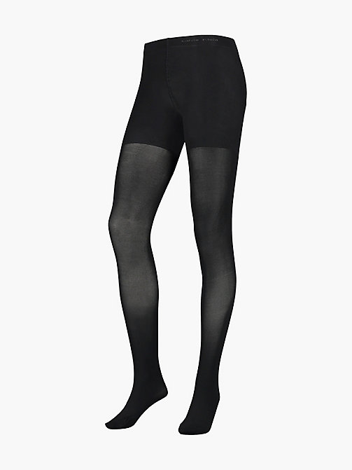 CALVINKLEIN Matte Shaper Tights - BLACK - CALVIN KLEIN WOMEN - main image