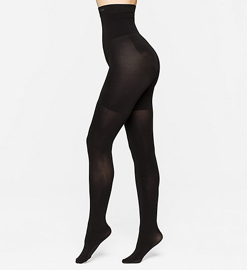 CALVINKLEIN High Waisted Shaper Tights - BLACK - CALVIN KLEIN UNDERWEAR - main image