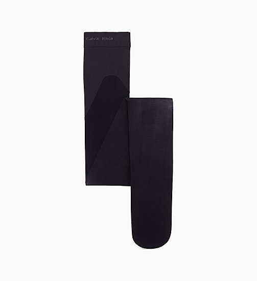 CALVINKLEIN French Cut Shaper Tights - BLACK - CALVIN KLEIN SOCKS & TIGHTS - main image