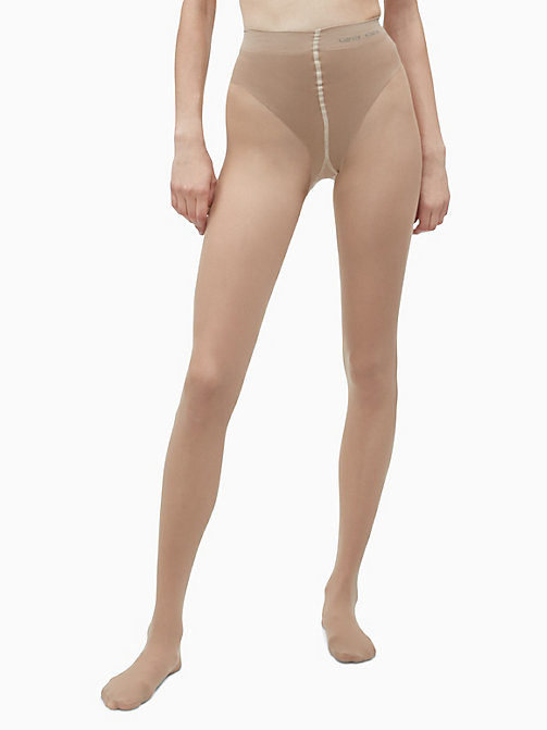 CALVINKLEIN French Cut Shaper Tights - SUN KISSED - CALVIN KLEIN WOMEN - detail image 1