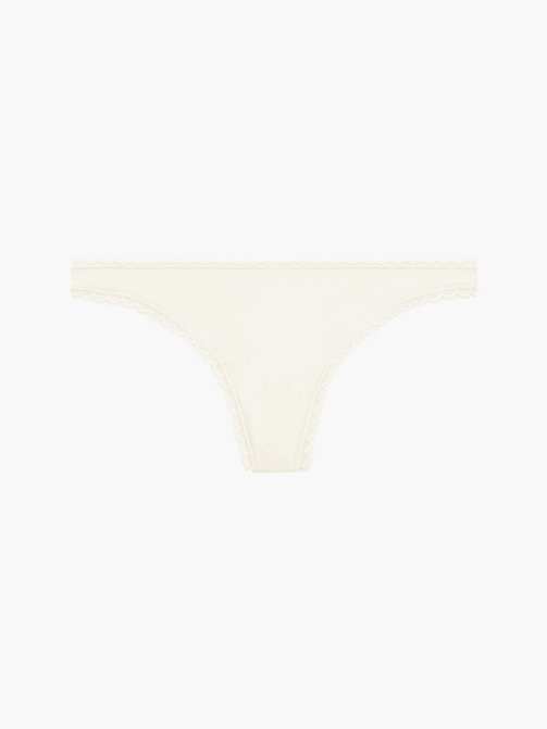 CALVINKLEIN Thong - Seductive Comfort - IVORY - CALVIN KLEIN KNICKERS - main image